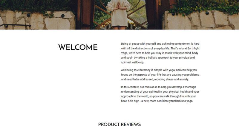 homepage earthligh yoga
