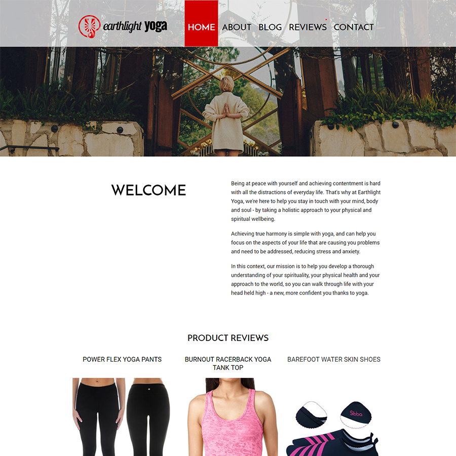 homepage earthligh yoga