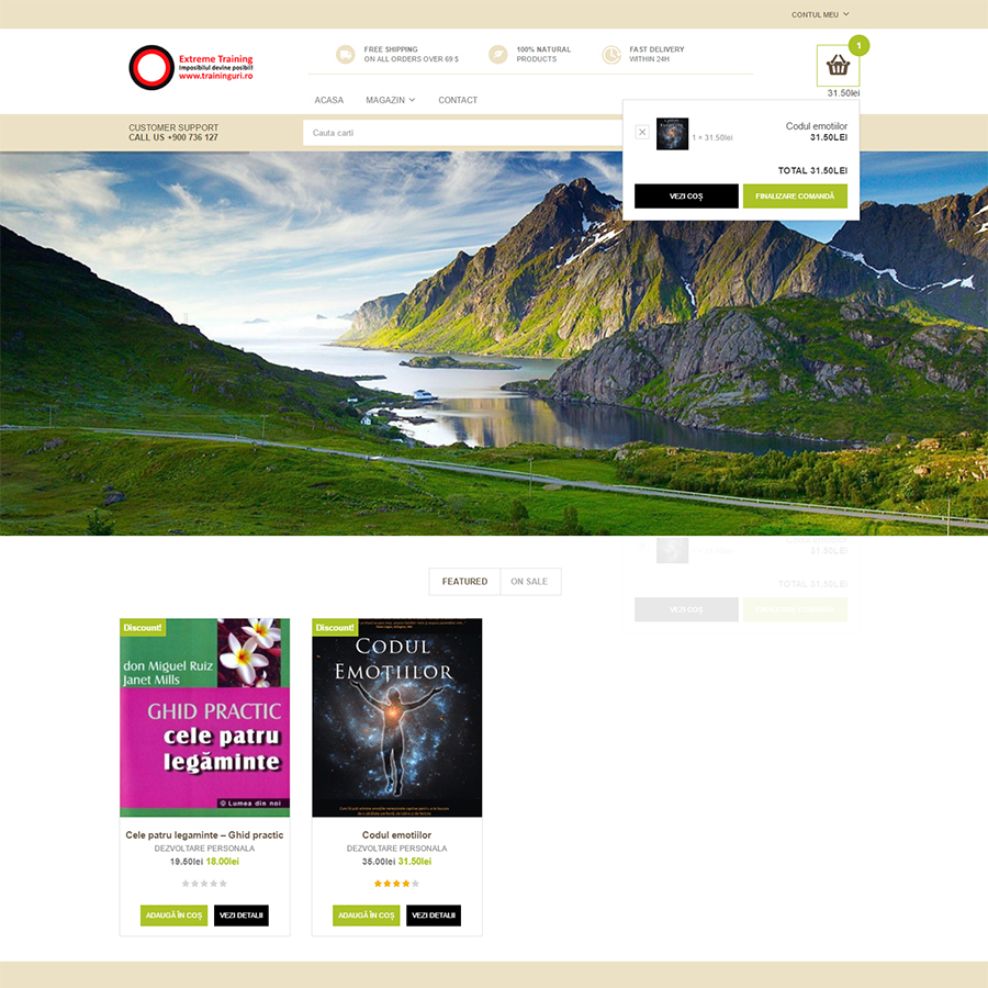 homepage librarie
