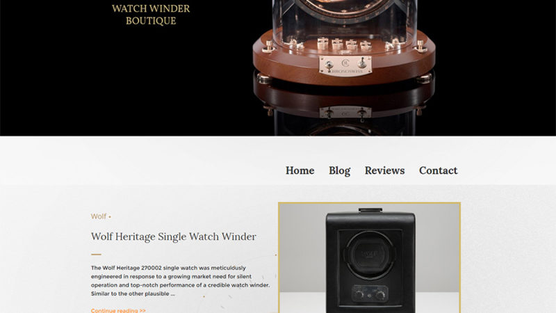 homepage watch